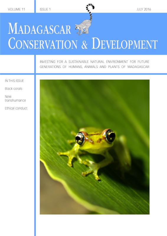 Madagascar Conservation & Development Volume 11, Issue 1